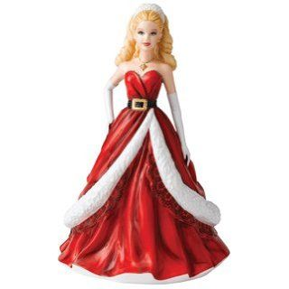Royal Doulton 2011 Holiday Barbie Figurine Everything