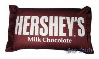 HERSHEY BAR milk Chocolate Squishy PILLOW NEW