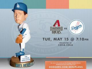 Orel Hershiser 1988 CY YOUNGDodgers Bobble Bobblehead SGA   Next Day