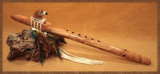 Littleleaf Native American Flutes HAWK SERIES #1 COLLECTIBLE Native