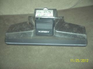 Kirby Vacuum Parts Powerhead Used Please See Pictures and Description
