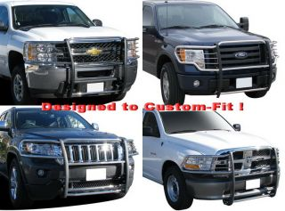 New Stainless Steel Grille Bumper Guard #F74327 Custom Fits F250/350