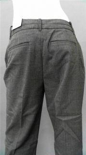 Van Heusen Studio Ladies Womens 4 Stretch Dress Straight Pants Gray