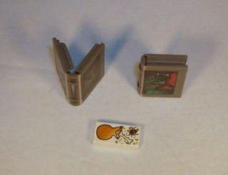 lego harry potter dark grey dragon spider spell book lot of 2 o