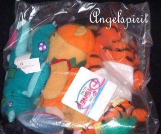 WINNIE THE POOH TIGGER EEYORE Halloween PLUSH Bean bag Disney TOYS 3
