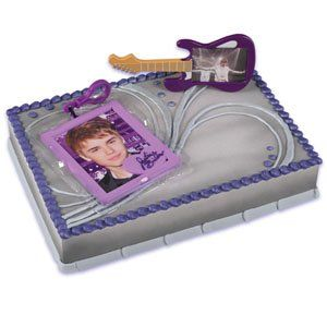 Bakery Crafts Justin Bieber Cake Kit, 1 EA / BX Kitchen