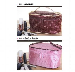 Cosmetic Bag Makeup Pouch Train Case NEW Inner Bag Organizer HBO 10