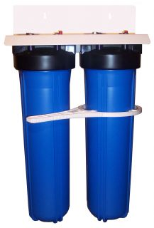Our Whole House Water Filter designed with oversize filters, housings