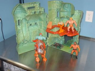 He Man Master of The Universe Play Set