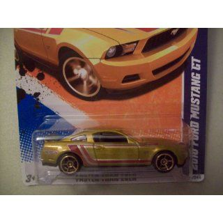 Hot Wheels 2011 Faster Than Ever Gold 2010 Ford Mustang GT