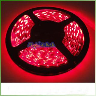 LT35 60R 5M Red 3528 SMD LED Light Strip 300 LEDs Indoor Non