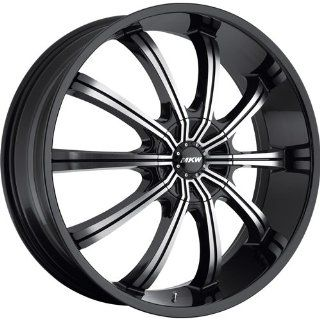 MKW M111 17 Black Wheel / Rim 5x100 & 5x4.5 with a 40mm Offset and a