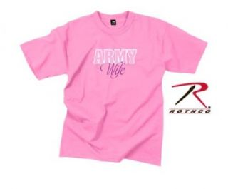 new pink army wife t shirt