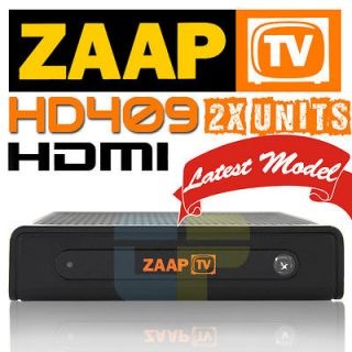IPTV HD 409 Arabic Turkish Greek Channels Receiver Zaap TV HD409