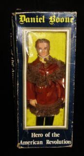 Hero of he American Revoluion Doll DANIEL BOONE Min in Box