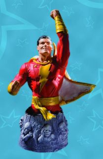 Heroes of The DC Universe Shazam Captain Marvel Bust