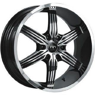 Motiv Motion 20x9 Chrome Black Wheel / Rim 6x5.5 with a 25mm Offset