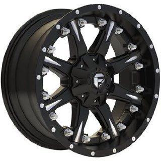 Fuel Nuts 20x9 Black Wheel / Rim 8x180 with a 1mm Offset and a 125.20