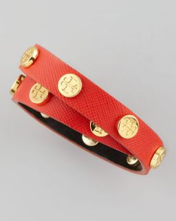 Studded Leather Bracelet  Neiman Marcus  Studded Leather Bangle