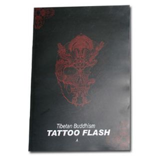BUDDHISM TATTOO FLASH SKETCH Art Book A   USA Seller Fast Shipping