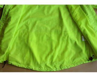 Cycling Jacket AUTUMN / WINTER High Visibility Hi Vis Viz Yellow