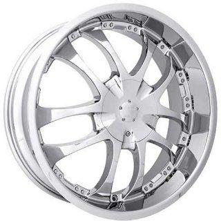 Strada A Arm 20 Chrome Wheel / Rim 5x4.5 & 5x120 with a 13mm Offset