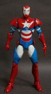 Custom Marvel Legends Iron Patriot Dark Avengers 6 Action Figure