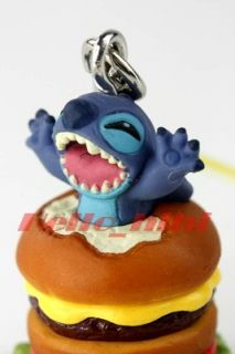 Tomy Disny Capsule World Lilo Stitch Mobile Strap C