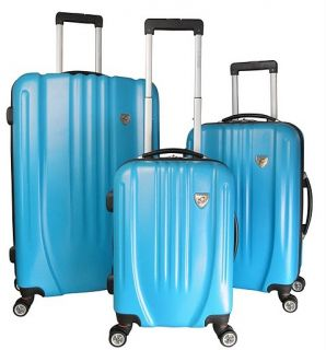Heys Shield Expand 4WD Spinner Wheels Luggage Turquoise