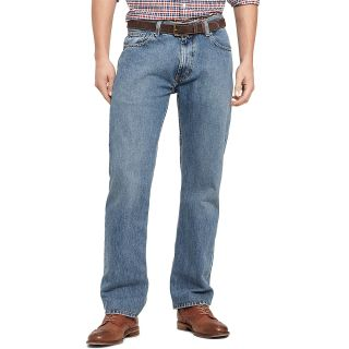Tommy Hilfiger Mens New Vintage Wash Custom Straight Jean