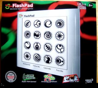 Touchscreen Electronic Handheld Game w Light Sound Educational