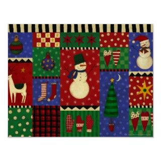 christmas quilt pattern posters