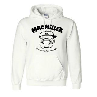 New Mac Miller Hooded Sweatshirt Rap Hip Hop Most Dope YMCMB Hoodie s