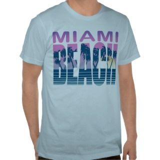 Miami Beach T shirt