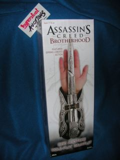 Assassins Creed Brotherhood Hidden Blade Knife Wrist Gauntlet Cosplay