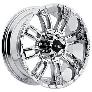 Incubus Crusher 20x9 Chrome Wheel / Rim 6x135 with a 12mm Offset and a