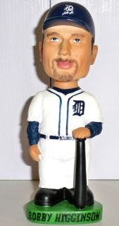New FOX Sports Net BOBBY HIGGINSON #4 Detroit TIGERS Official MLB