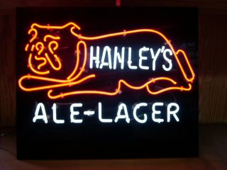 James Hanley Brewing Co. unique and extremely rare neon sign