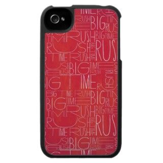 Big Time Rush Red Pattern iPhone 4 Covers