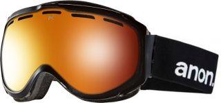 New Anon Hawkeye Black Red Solex Mens Burton Ski Snowboard Goggles