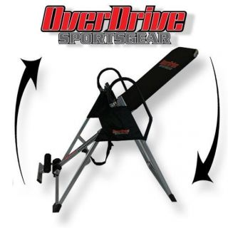 New Heavy Duty Adjustable Inversion Table for Exercise Therapy Fitness