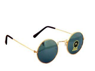 Silver Mirror Round Hippie Glasses Sun Glasses Vampire
