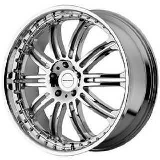 KMC KM127 20x8.5 Chrome Wheel / Rim 6x5.5 with a 10mm Offset and a 108