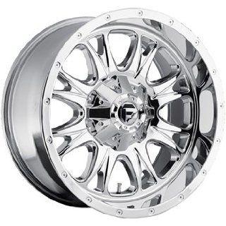 Fuel Throttle 18x10 Chrome Wheel / Rim 5x4.5 & 5x5 with a  12mm Offset