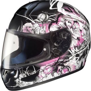 HJC CL 16 Virgo Pink Ladies Full Face Motorcycle Helmet Size XS XXXL