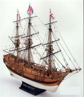 Mamoli HMS Bounty Wood SHIP Model Kit MV52 1 100 Scale New