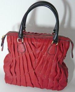 Katherine Heigl Favorite Tote Valentino Garavani Maison Red Leather