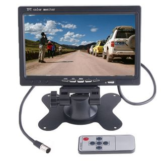 TFT LCD Car Rearview Headrest Monitor for DVD VCR