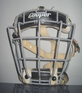 Vintage Cooper HM8 Model Hockey Goalie Cage Mask
