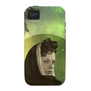 ADORA: 1940s FASHION in CHARTREUSE and OLIVE Case For The iPhone 4